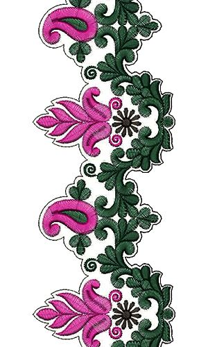 9373 Lace Embroidery Design