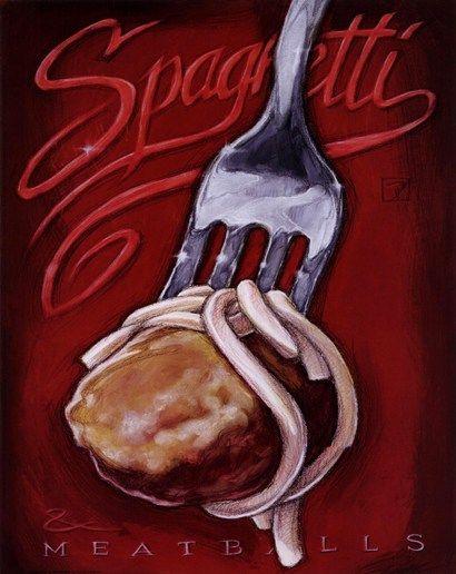 Spaghetti+Meatballs