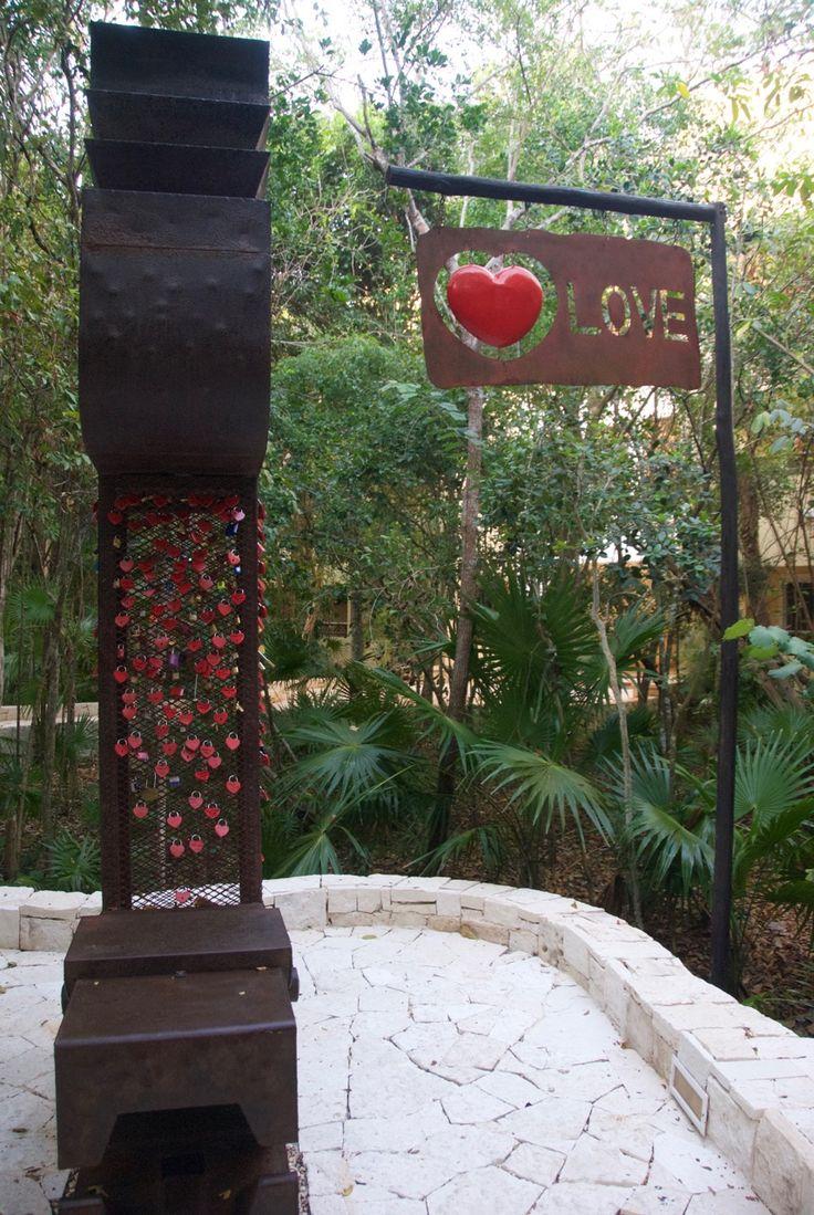 Love Locks at Catalonia Royal Tulum