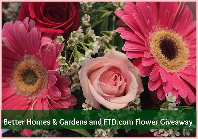 50 Fresh Flower GIVEAWAY from Better Homes & Gardens