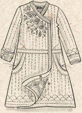 "Jas ""Li Wei"" van katoen/viscose–De Chinese Muur–GUDRUN SJÖDÉN – Kleding Online & Postorder"