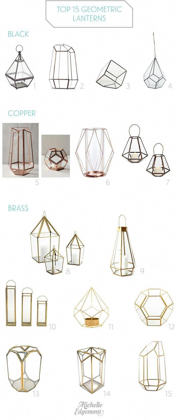 Top 15 Geometric Lanterns