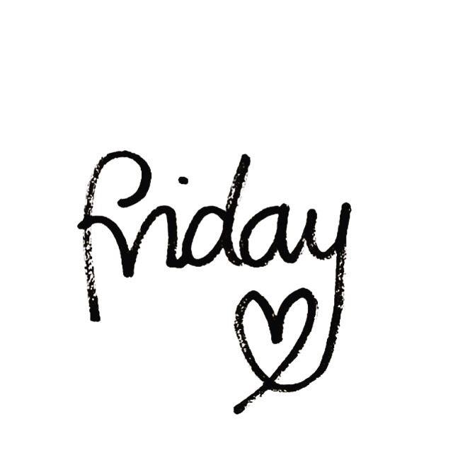 Friday lovin'