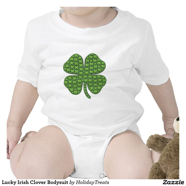 Lucky Irish Clover Bodysuit