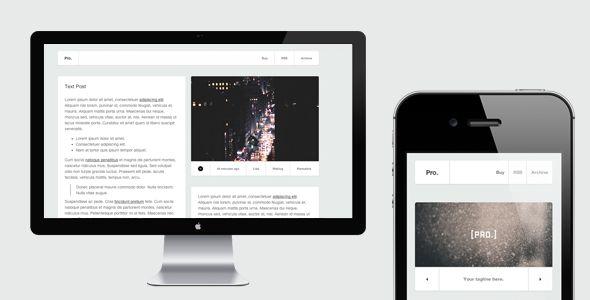 Pro - Responsive Tumblr Theme - Business Tumblr