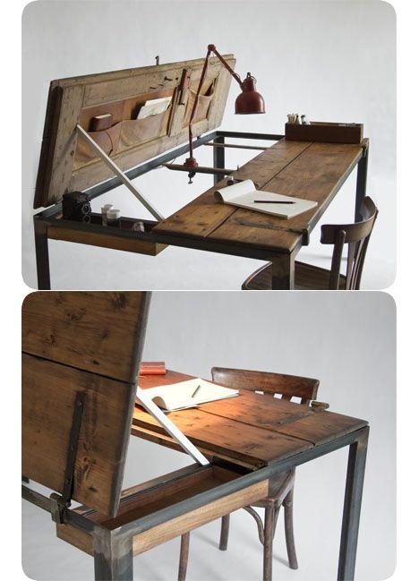 Como la mesa de mi abuelito! :D