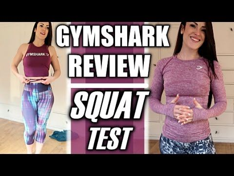 New Gymshark | Review Including The Squat Test