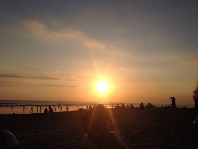 Sunset - Brawa Beach Bali