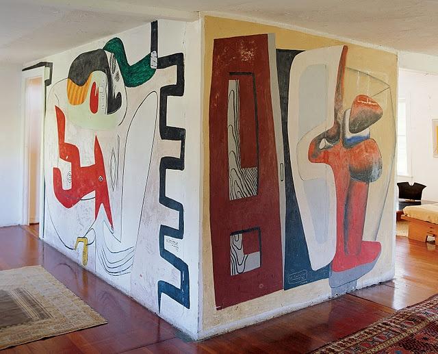 Modern mural by Le Corbusier