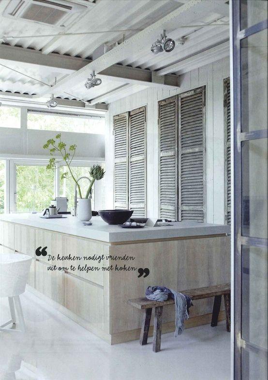 Keuken Wit Blad : With, Tough And, Basics Nl, Keuken Stoer, Prachtige Keuken, Kitchen