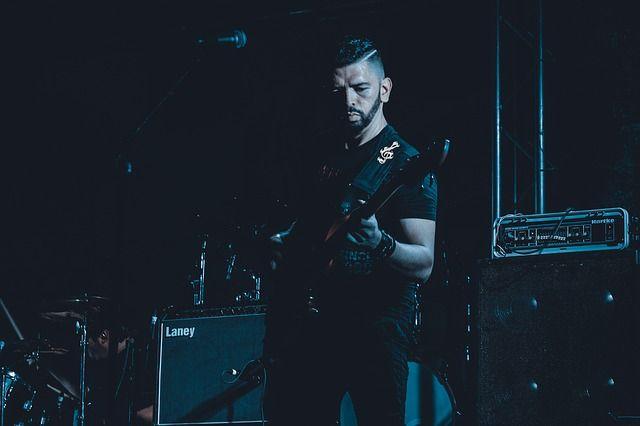 Photo By marcisio   Pixabay   #hostile #band #rock #rockmusic #rockbands #staging #stage #music #musicartist #blackmusic #etapa