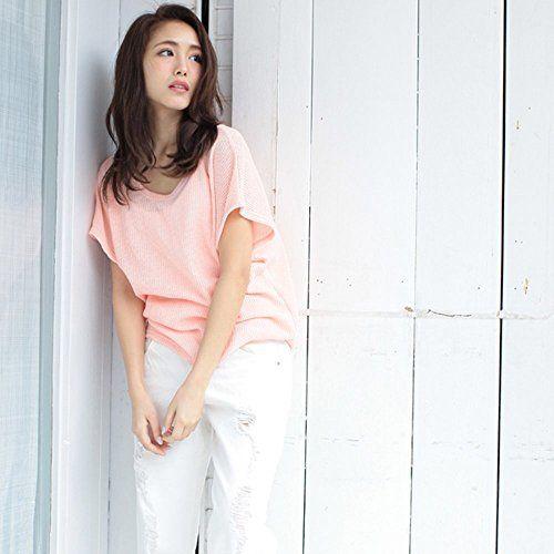 透けニットソーTシャツ インナーキャミソールSET ラベンダー Mサイズ (ラベンダー×オフ) HoneyDrop https://www.amazon.co.jp/dp/B01GHHPD1U/ref=cm_sw_r_pi_dp_x_Mh62ybW9K0GPP