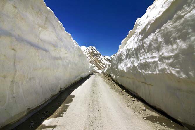Barlachala Pass In Leh Manali Highway - India