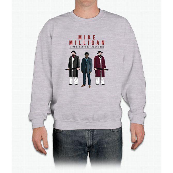 Mike Milligan & The Kitchen Brothers! FARGO Crewneck Sweatshirt
