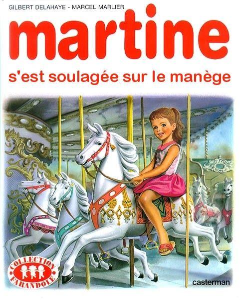 Martine n'a plus de PQ, mais improvise