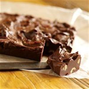 Foolproof Chocolate Fudge Printable Recipe: http://myhoneysplace.com/foolproof-chocolate-fudge-printable-recipe/