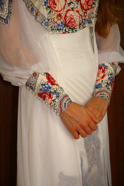 свадебное платье из ппп