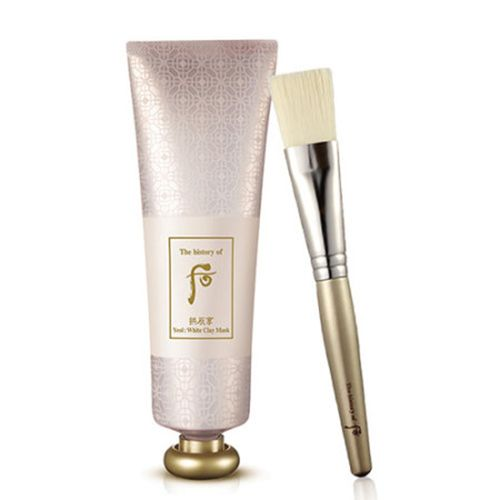 The History of Whoo Yeol : White Clay Mask 80ml                          Features              A clay mask that cools and smoothens the skin while gifting elasticity.         A brush included.                             Detail                How To Use
