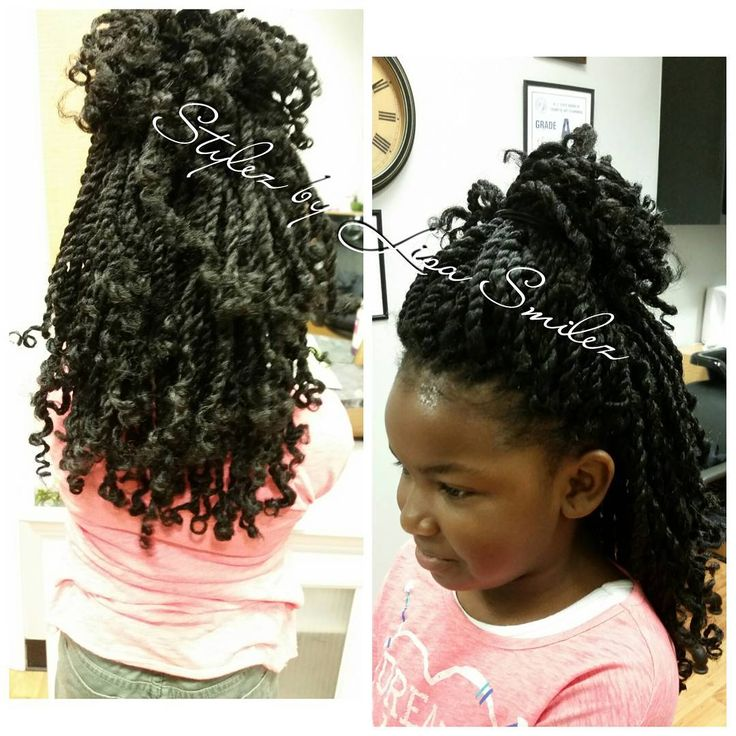 Kids Crochet Kinky Twist Install Only Took 1hr Amp 30