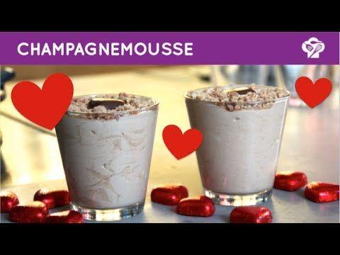 FOODGLOSS - Champagnemousse voor Valentijn