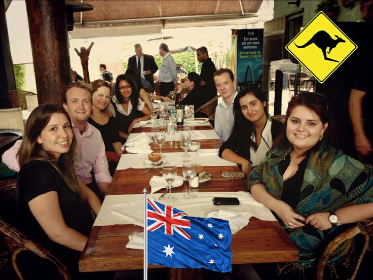 Um tempo pela cultura Australiana.