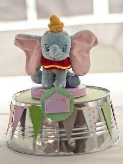 Dumbo's Circus Baby Shower