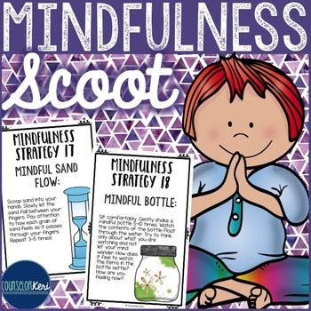Mindfulness Scoot Activity - Upper Elementary... by Counselor Keri | Teachers Pay Teachers