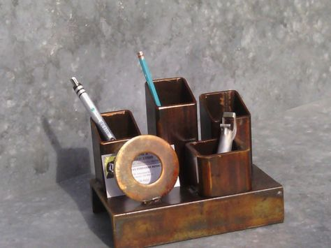 Hey, I found this really awesome Etsy listing at https://www.etsy.com/listing/212350562/desk-organizer-pencil-holder-business