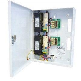 VR124000-8-T - Elmdene 8 Way Fused 4 Amp Power Supply