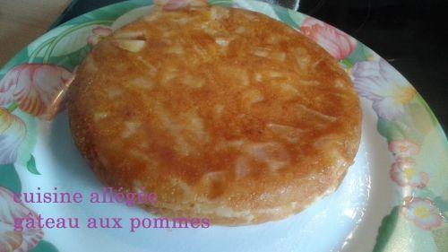 Gâteau aux pommes allégé au cookéo