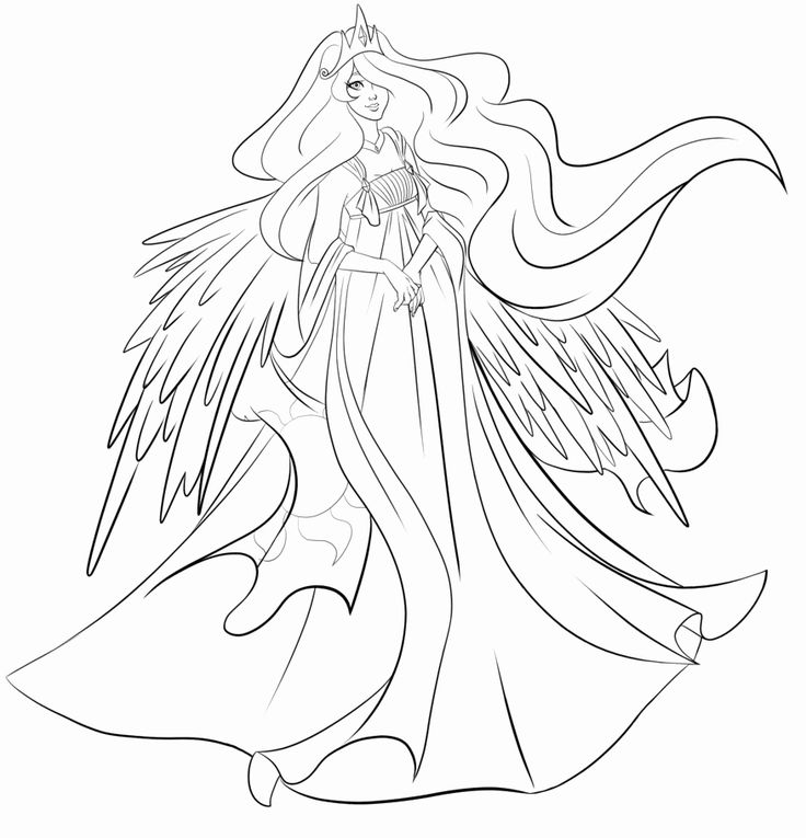 Princess Celestia Coloring Page Lovely Princess Celestia Coloring Page Coloring Home In 2020 Coloring Pages My Little Pony Baby My Little Pony Names