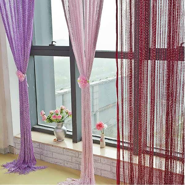 Glitter Tassel String Line Door Window Curtain Room Divider Screen Decor  Description: Perfect Decoration For Home, Bar, Coffee Shop, Clothes Shop,  Parties, ...