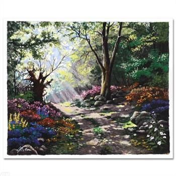 Fairytale Forest! Limited Edition Serigraph by Anatoly Metlan, Numbered and Hand Signed with Certificate!