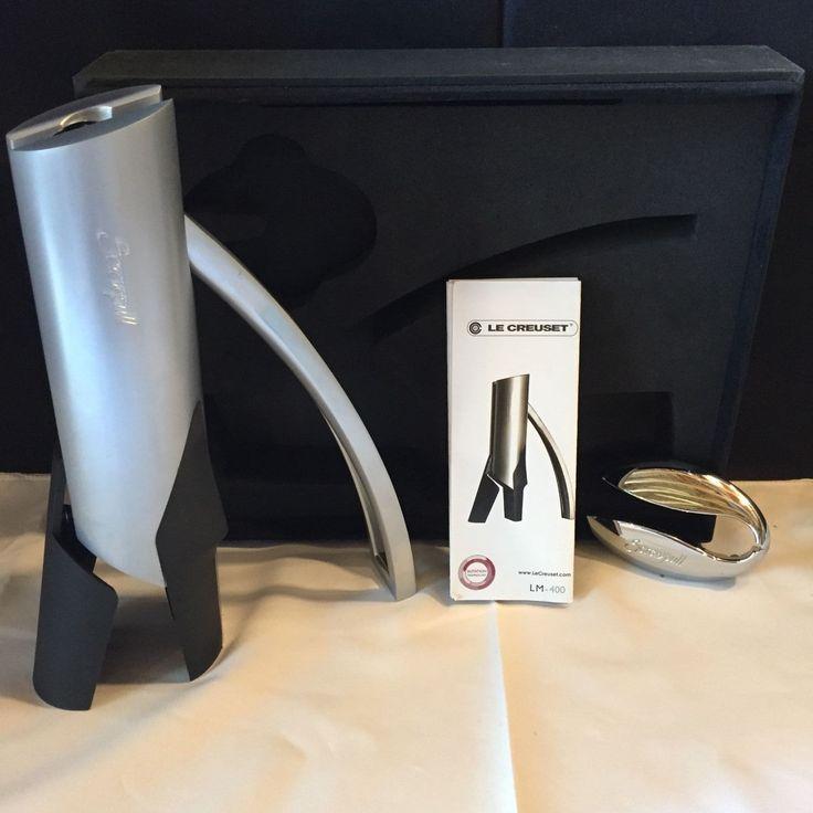 nice Screwpull/Le Creuset LM-400 Vertical Lever Wine Opener Check more at https://aeoffers.com/product/wine/screwpullle-creuset-lm-400-vertical-lever-wine-opener/