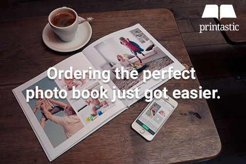 Printastic is the best and easiest way to print your photos from your iPhone or iPad. Select your photos, choose the custom layout that makes you happy, and we'll ship your finished book to you in just a few days.