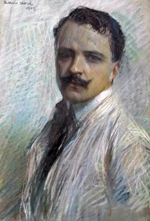 Arturo Noci - Self-portrait, 1909