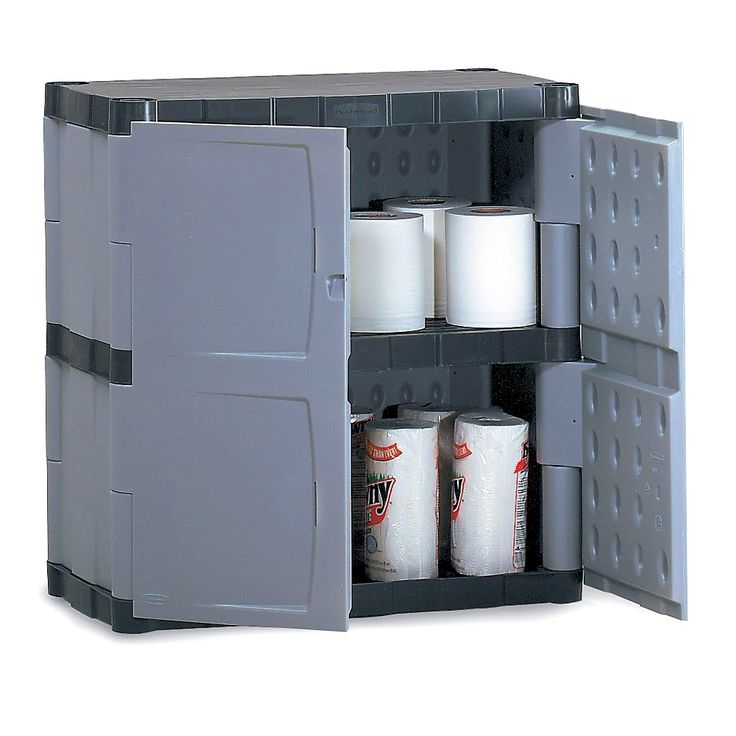 Heavy Duty Plastic Storage Cabinets With Doors