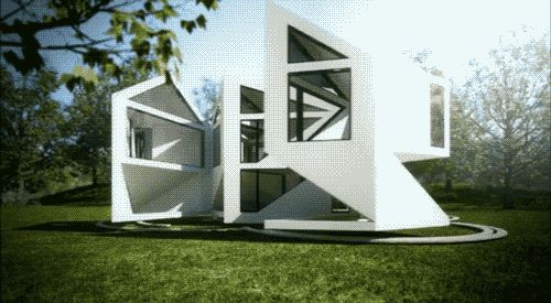 60 best unstudio images on pinterest architecture architects and flag - Shape shifting house ...