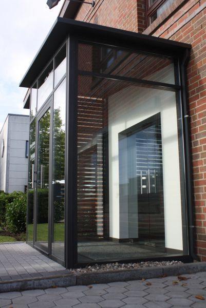 Image Result For Windfang Ideen Ahorn Porch House Entrance House