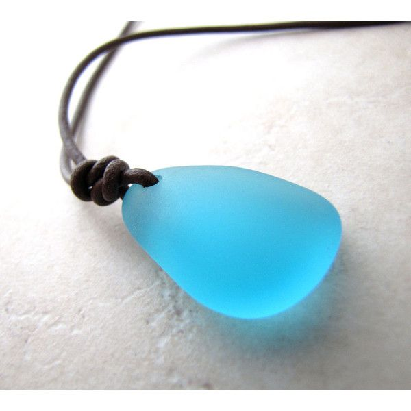 Mens Necklace, Mans Necklace,Sea Glass Necklace, Seaglass Necklace,... (50 NZD) ❤ liked on Polyvore featuring men's fashion, men's jewelry, men's necklaces, mens beach necklaces, mens watches jewelry, mens necklaces and mens leather necklace