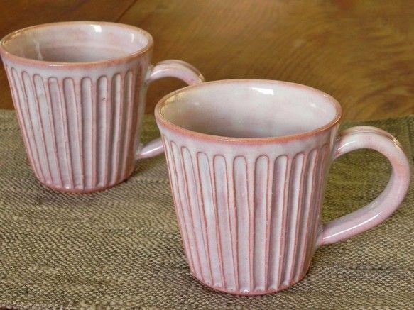 しのぎマグカップ(紫)|グラス・カップ|土和窯(つちわがま)|ハンドメイド通販・販売のCreema