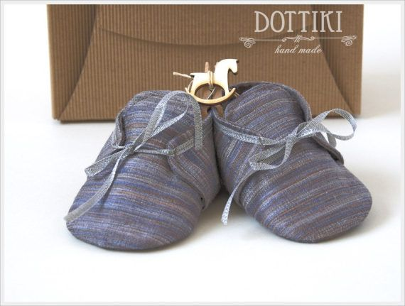 Baby Boy  Shoes Silk  Booties Baby Gift Personalised Shoes #dottiki, #christienigshoes, #babyshoes, #silkshoes, #babygift #personalisedshoes