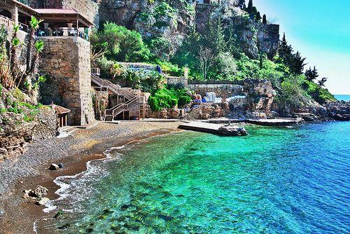 Bay at Antalya, Turkey