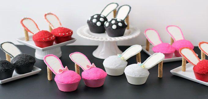 Stiletto Cupcakes recipe - from Tablespoon!