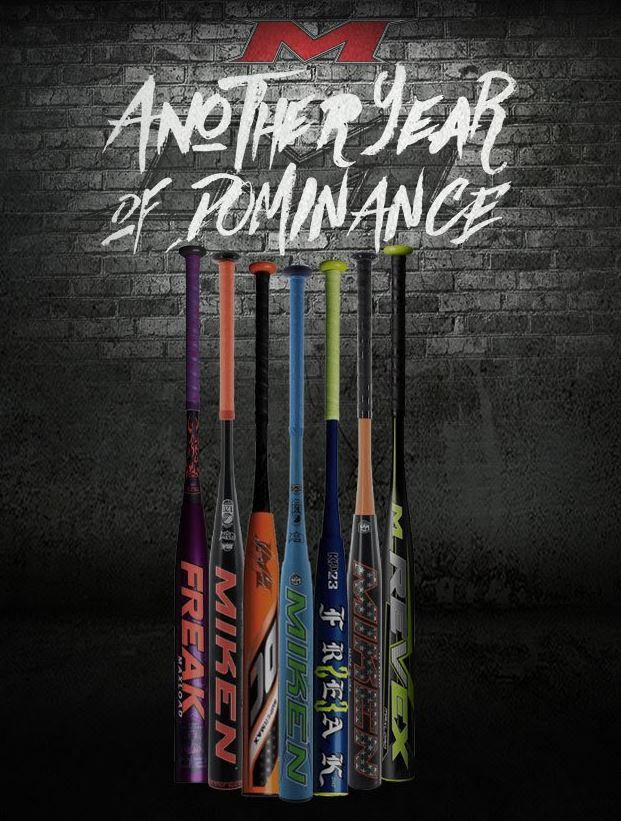 Another year of dominance! Shop the 2018 Miken Slow Pitch