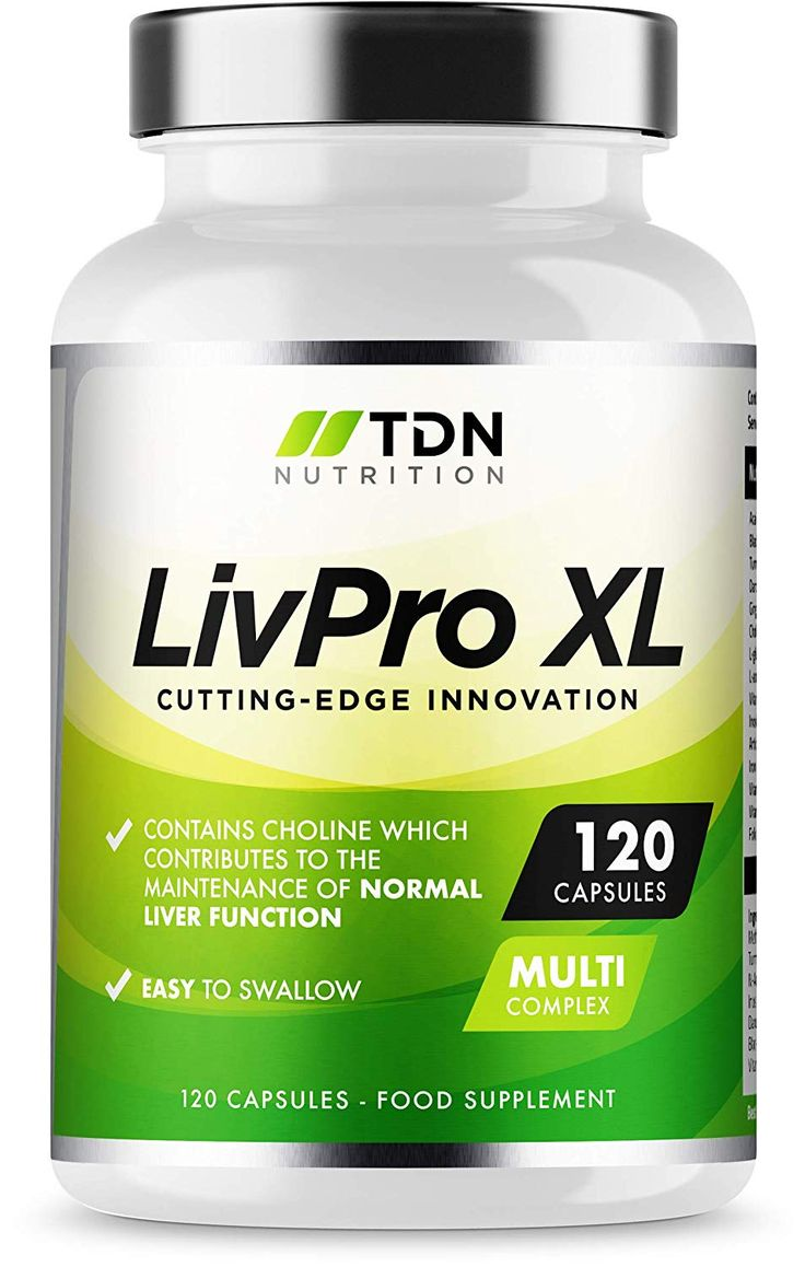 Liver Pro 120 Capsules UK Manufactured Liver Support