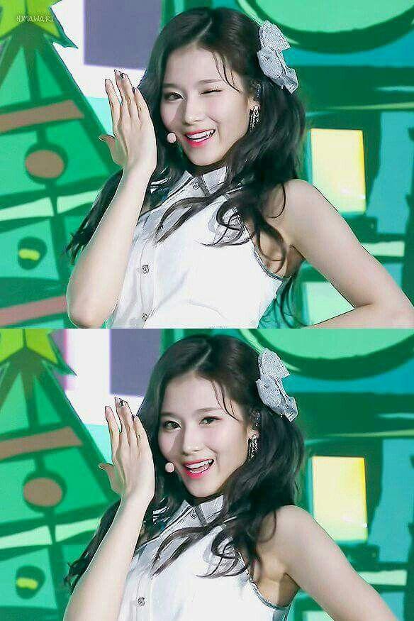 Sana-Twice 171225 SBS Gayo Daejeon