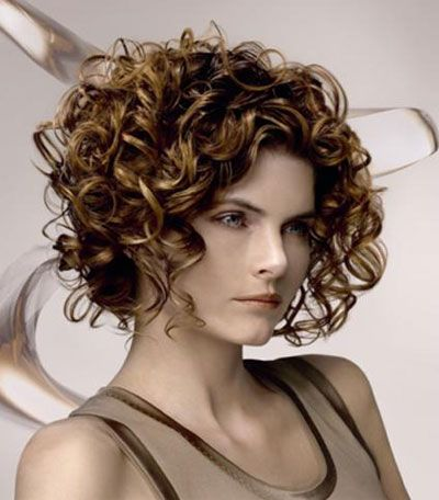Surprising 1000 Ideas About Curly Bob Haircuts On Pinterest Curly Bob Hairstyles For Women Draintrainus