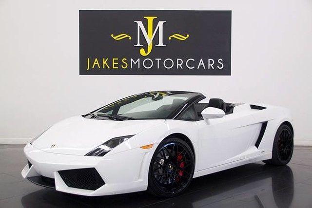 Nice Amazing 2010 Lamborghini Gallardo LP560-4 Spyder E-GEAR 2010 LAMBORGHINI LP560-4 SPYDER E-GEAR, WHITE ON BLACK, 7 2017 2018