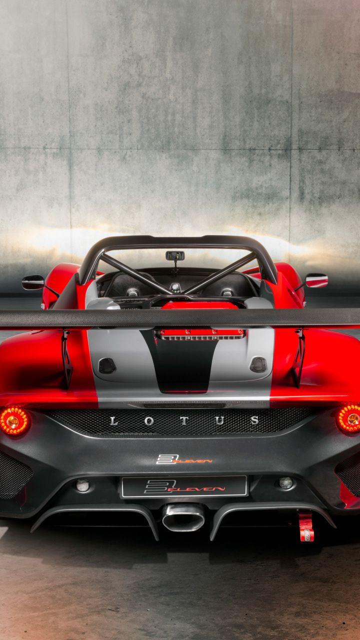 Lotus 3 Eleven 430 Rear View Car 720x1280 Wallpaper Car Rear View Lotus